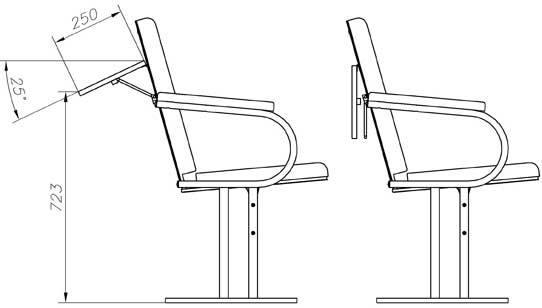 Кресло «Театральное -1» может
